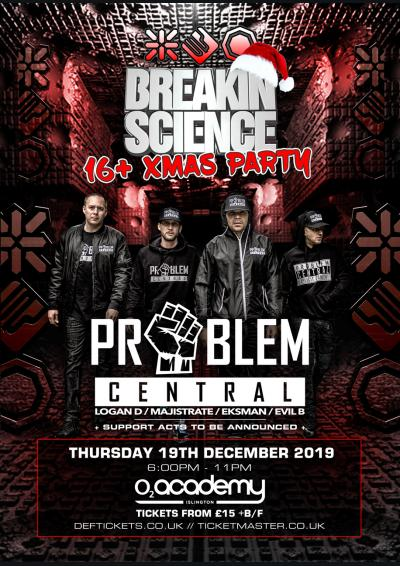 BREAKIN SCIENCE 16+ XMAS PARTY