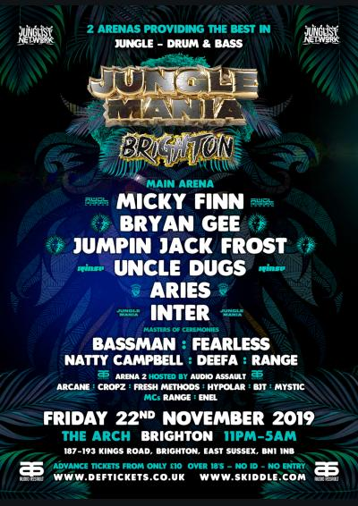 JUNGLE MANIA BRIGHTON
