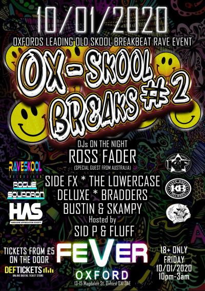 OX-SKOOL BREAKS #2 ft ROSS FADER