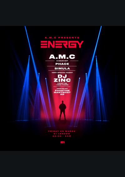 A.M.C presents Energy 2020 Poster