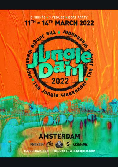JUNGLE DAM 2022 - AMSTERDAM WEEKENDER